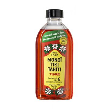 MONOI TIKI TIARE SUN FACTOR 6 120ml